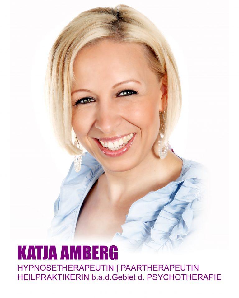 Katja Amberg Hypnosetherapeutin Paartherapeutin Heilpraktikerin